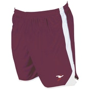 Precision Roma Shorts Junior Maroon/White/White - M/L Junior 26-28""
