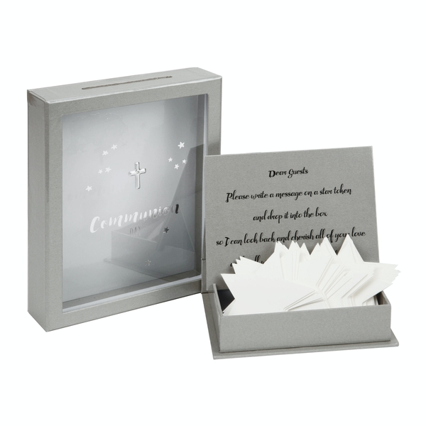Communion Token Box with 3D Star Shaped Message Cards