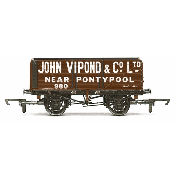 Hornby 7 Plank Wagon John Vipond 920 Era 3 Model Train