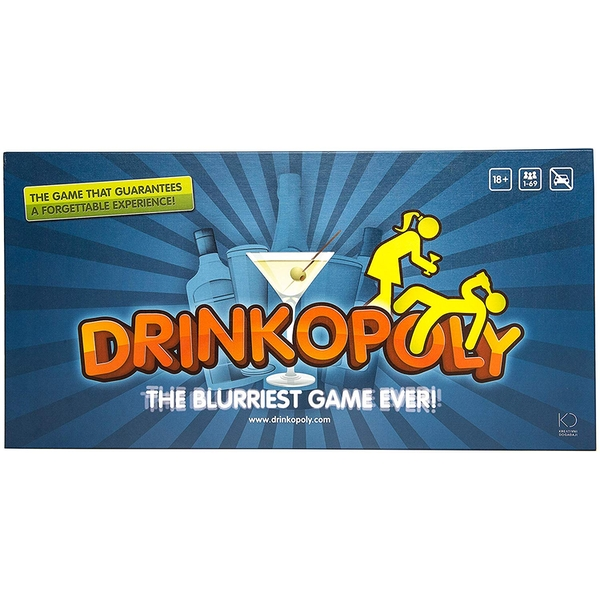 Drinkopoly Board Game - Image 1