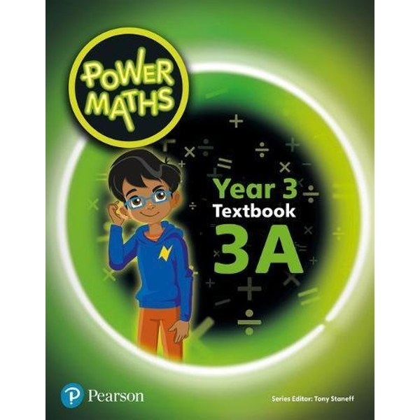 Power Maths Year 3 Textbook 3A by Pearson Education Limited(Paperback)