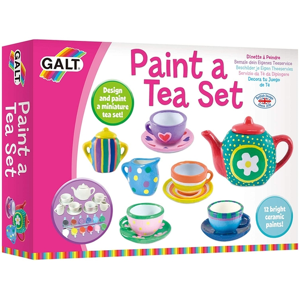Paint a Tea Set Creative Activity Kit