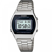Casio Classic Digital Watch with Stainless Steel Band Silver
