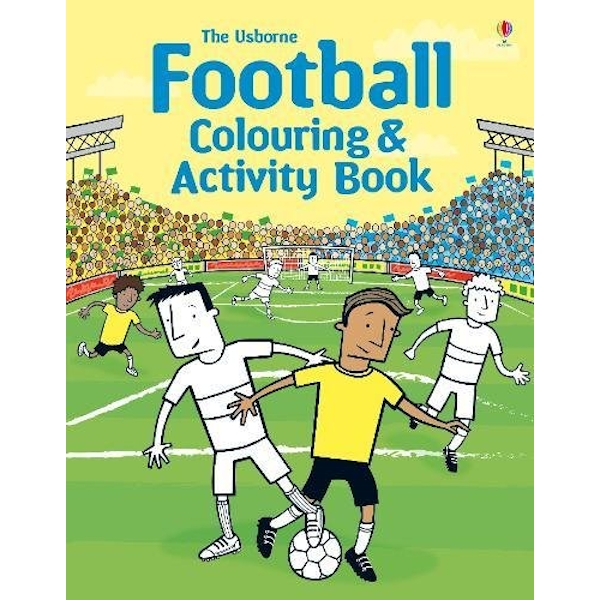 Football Colouring and Activity Book   Paperback / softback 2014
