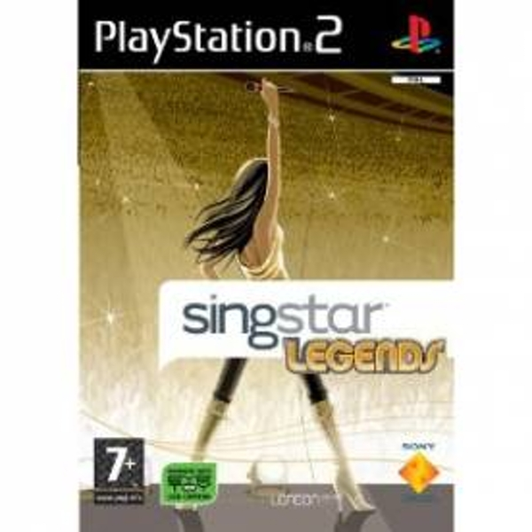 Singstar Legends Solus Game PS2