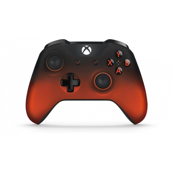 Red Volcano Shadow Wireless Xbox One Controller - Image 2