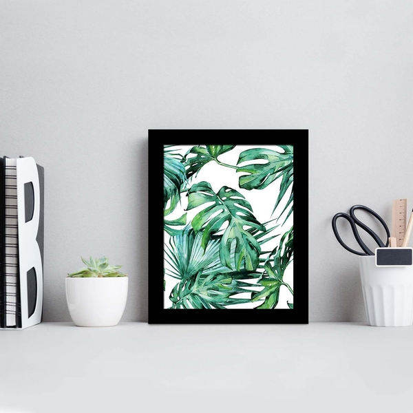 SCTCIZ-002 Multicolor Decorative Framed MDF Painting