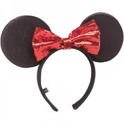Disney Minnie Mouse Headband Ears & Bow