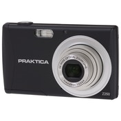 PRAKTICA Luxmedia Z250 Black Camera Kit inc 16GB SDHC Class 10 Card & Case