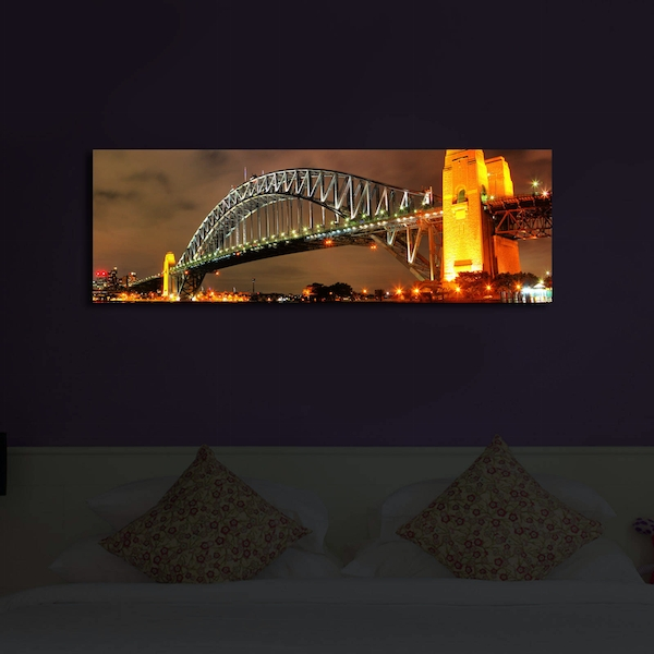 3090?ACT-26 Multicolor Decorative Led Lighted Canvas Painting