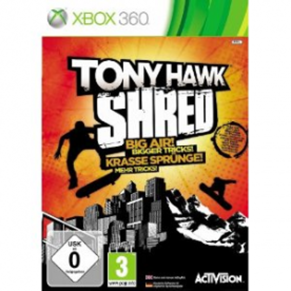 Tony Hawk Shred Solus Game Xbox 360