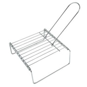 Xavax Grill Grid with Feet, 23 x 23 cm, extendable up to 40 cm