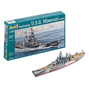 Battleship U.S.S. Missouri WWII 1:1200 Revell Model Kit