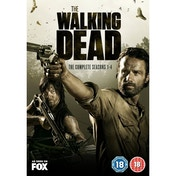 The Walking Dead Seasons 1-4 DVD