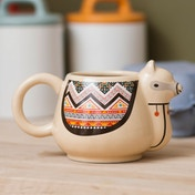 Thumbs Up! Llama Mug
