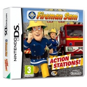 Fireman Sam Action Stations Game DS