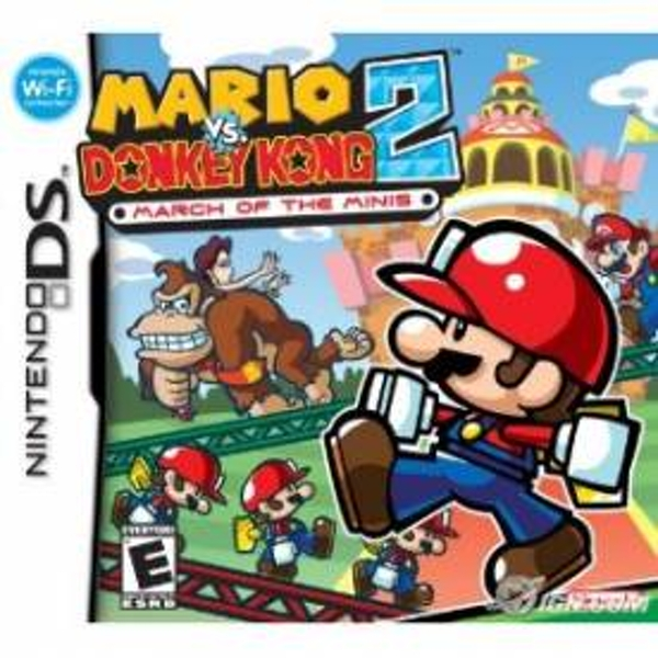 Mario vs Donkey Kong 2 March Of The Minis Game DS
