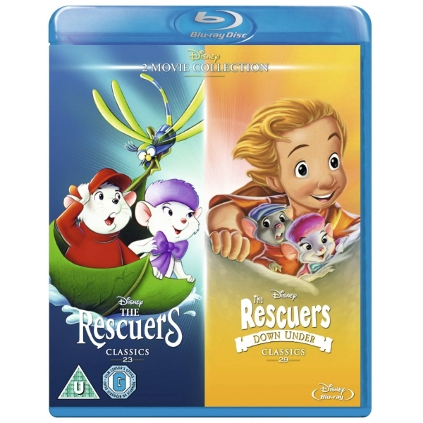 Rescuers & Rescuers Down Under Blu-ray
