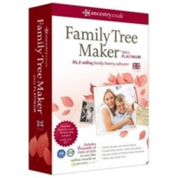 Family Tree Maker 2012 Platinum Edition PC