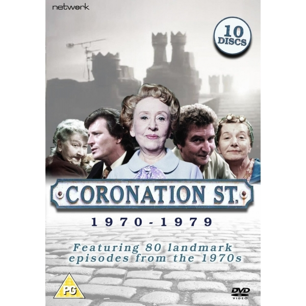 Coronation Street Best of 1970 - 1979 DVD