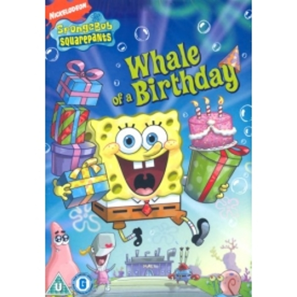 Spongebon Squarepants Whale Of A Birthday DVD