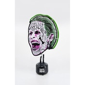 DC Suicide Squad Green and White Joker Mini Neon Table Light UK Plug