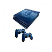 Ex-Display Official Everton FC PS4 Pro Console Skin and 2x Controller Skin Combo Pack Used - Like New
