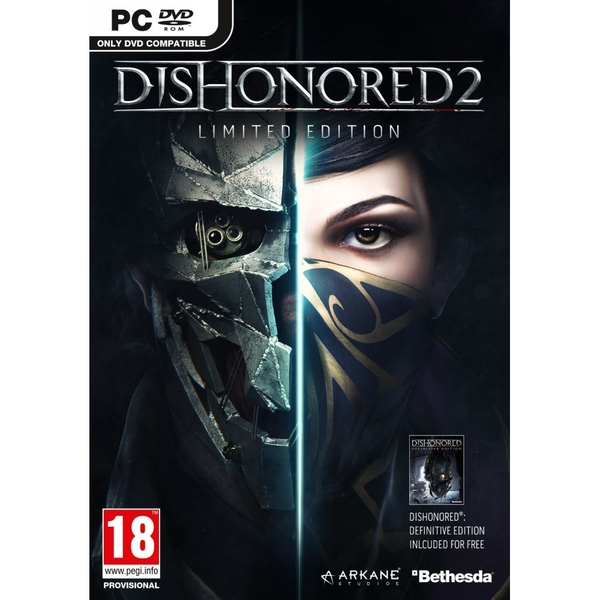 Dishonored 2 Limited Edition PC Game (Imperial Assassin's DLC)