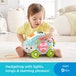 Fisher-Price Linkimals Interactive Happy Shapes Hedgehog Toy with Lights and Sounds - Image 3