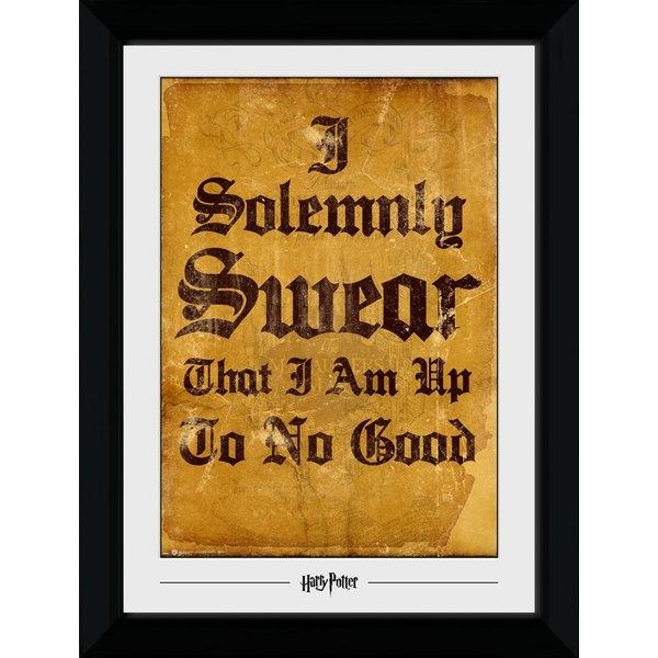 Harry Potter I Solemnly Swear Collector Print