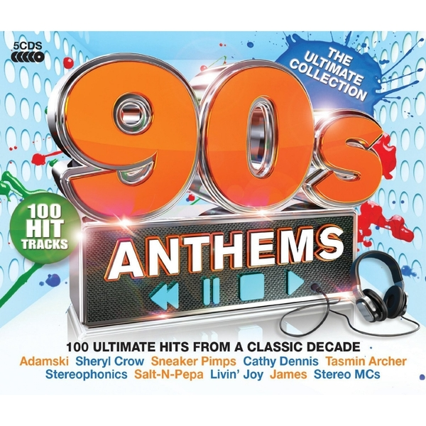 Various Artists - 90s Anthems CD