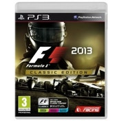 F1 2013 Classics Edition Game PS3
