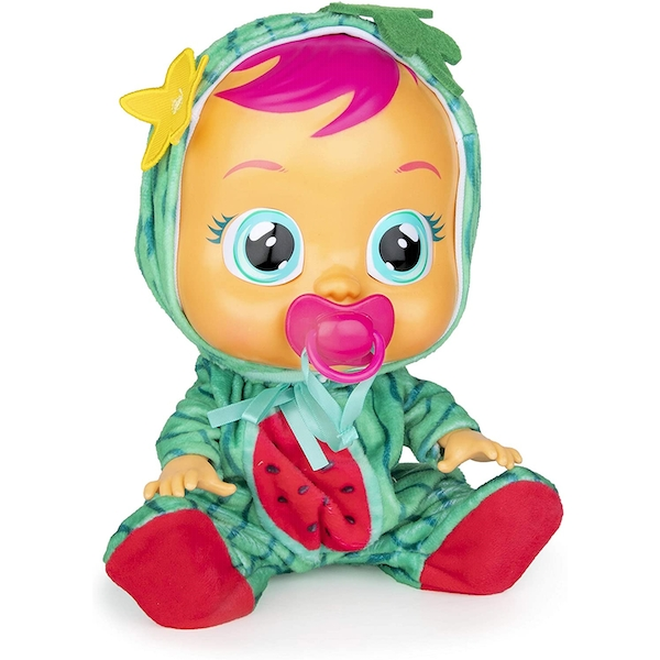 Cry Babies Watermelon Mel Interactive Doll