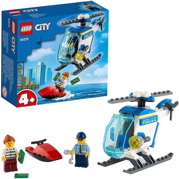 Lego City Police Police Helicopter Construction Set