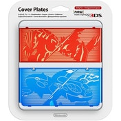 New Nintendo 3DS Cover Plates Pokemon Ruby/ Sapphire Faceplate