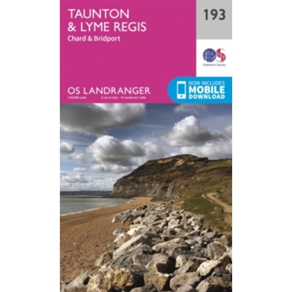Taunton & Lyme Regis, Chard & Bridport by Ordnance Survey (Sheet map, folded, 2016)