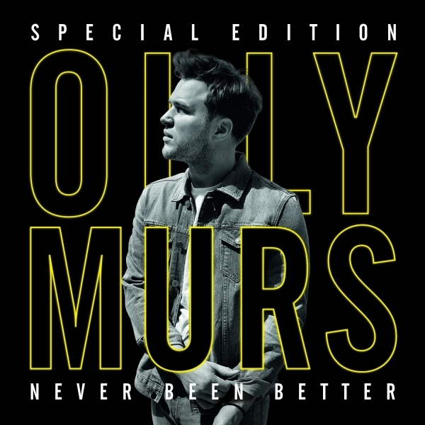 Olly Murs - Never Been Better Special Edition CD