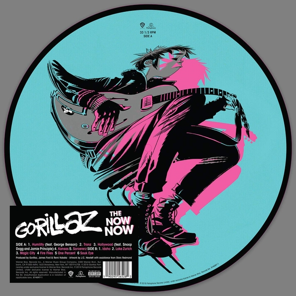 Gorillaz - The Now Now (Picture Disc) Vinyl