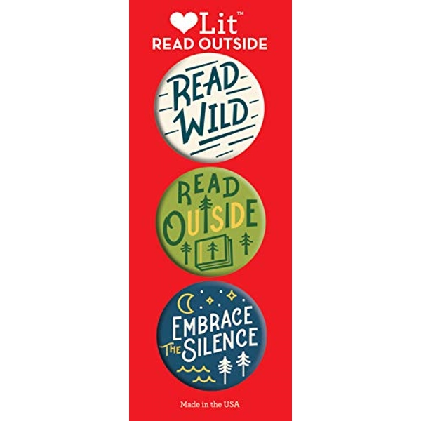 Read Outside 3 Badge Set  Other printed item 2019