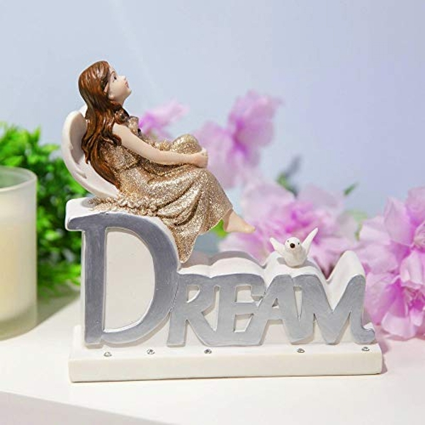 Thoughts Of You Angel Figurine - Dream