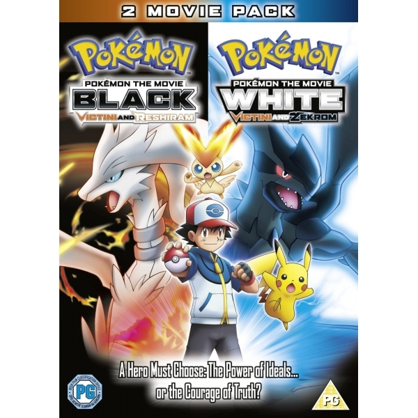 Pokemon the Movie Black & Pokemon the Movie White DVD