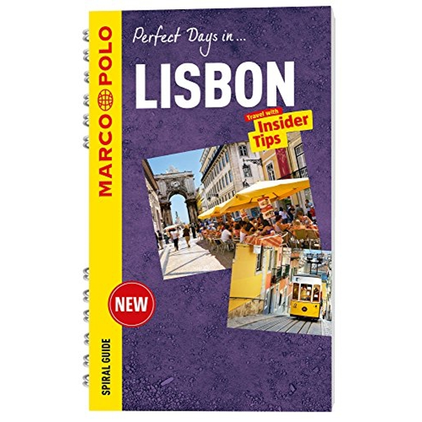 Lisbon Marco Polo Travel Guide - with pull out map  Spiral bound 2016