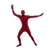 Original Morphsuit Black Large Maroon