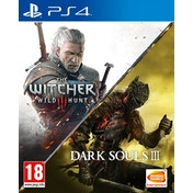 The Witcher III Wild Hunt + Dark Souls III Compilation PS4 Game