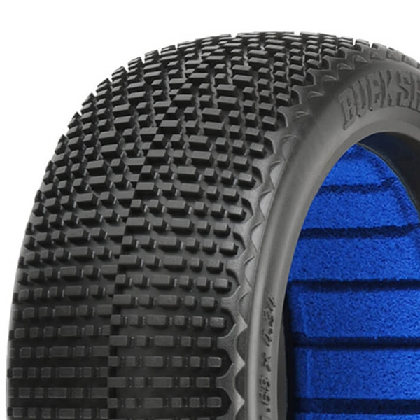 Proline 'Buck Shot' S4 S/Soft 1/8 Buggy Tyres W/Closed Cell