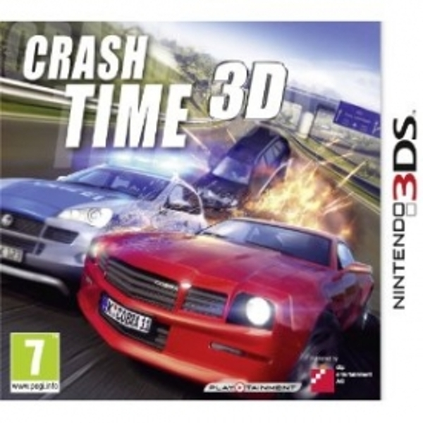 Crash Time 4 The Syndicate Game 3DS