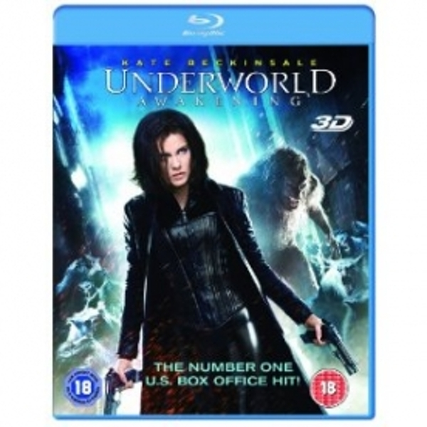 Underworld Awakening Blu Ray 3D & Blu-Ray