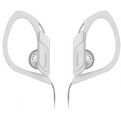Panasonic Water & Sweat Resistant Sports Earbud Headphones White