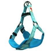 Long Paws Blue Comfort Collection Padded Harness L