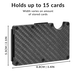 Carbon Fibre RFID Blocking Wallet | Pukkr - Image 6
